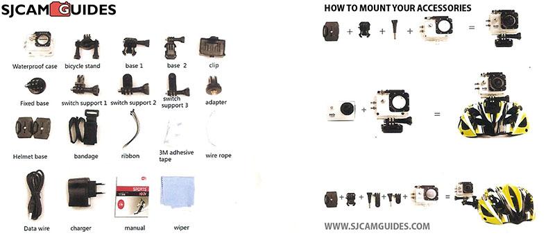 инструкция к Sjcam Sj4000 - фото 8