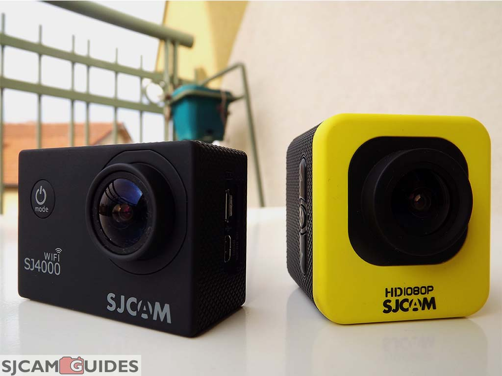 Instructions on how to set up a sjcam sj 4000 - Sj4000 Wifi Cam On The Right And Never Model M10 Left