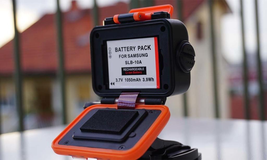 Battery backdoor