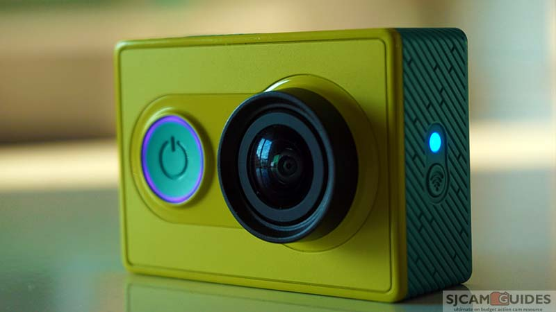 Xiaomi YI is low-budget action camera that can record videos in 2k and create 16mp photos.