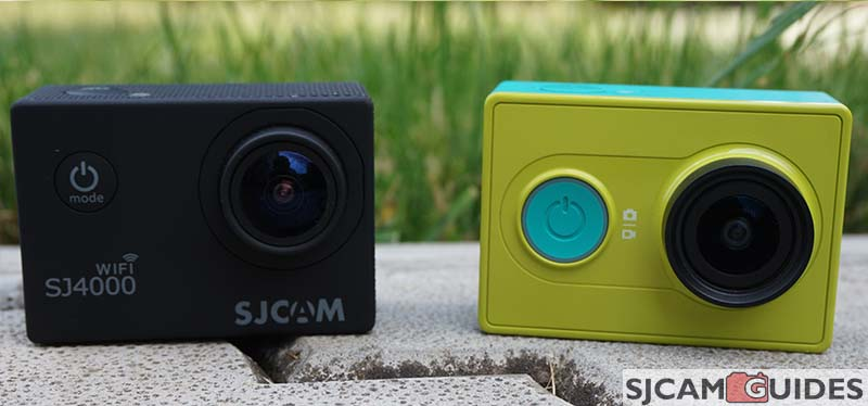 SJ4000 versus xiaomi Yi action cameras difference
