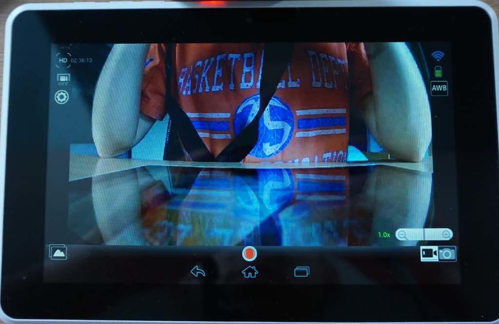 Amkov Amk I-Cam app interface (Android)