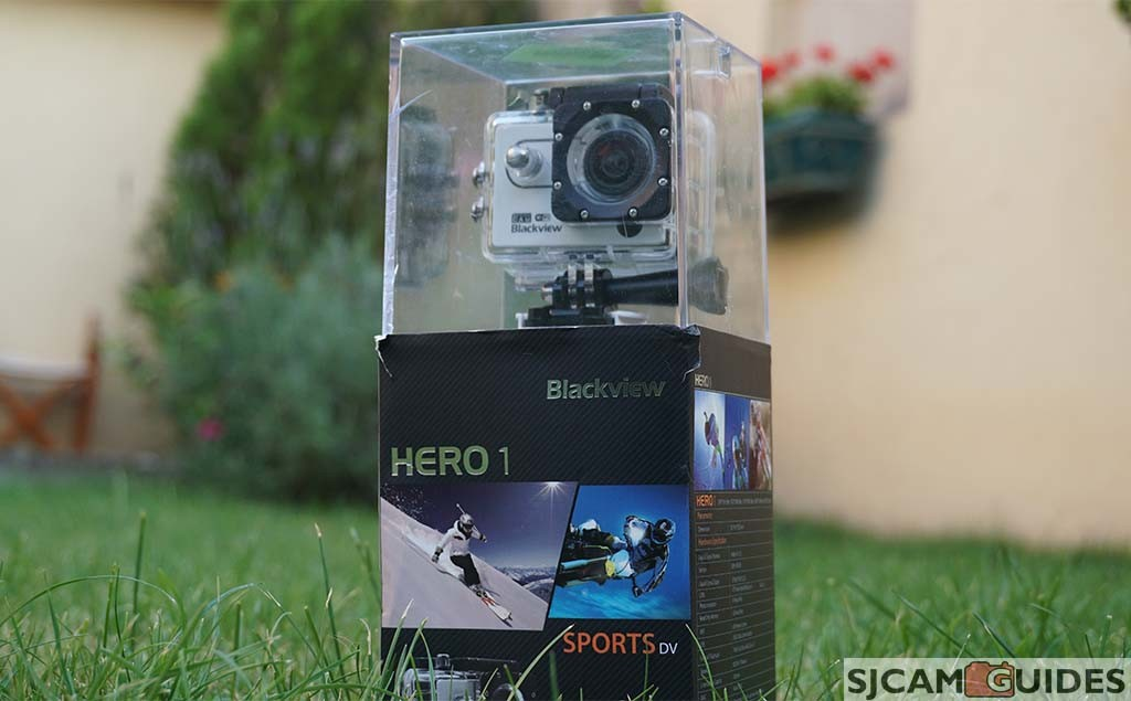 Package of Hero 1 action camera.