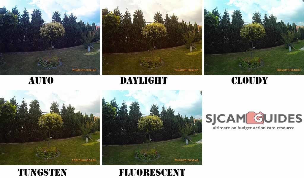 White balance is important setting and can have a huge influence on how your video or photo look.