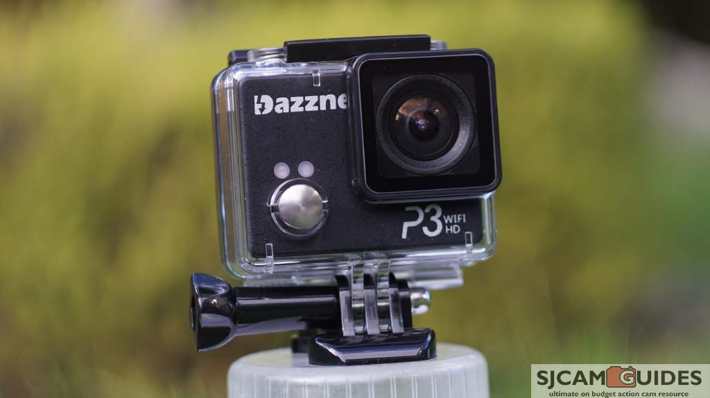Dazzne P3 can record in full HD 1080p at 30/60 fps and take 16 megapixels images.