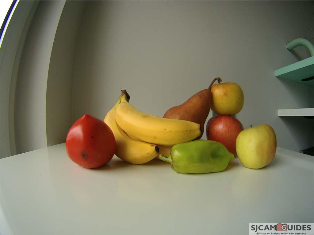 Dazzne P3 fruits image color test