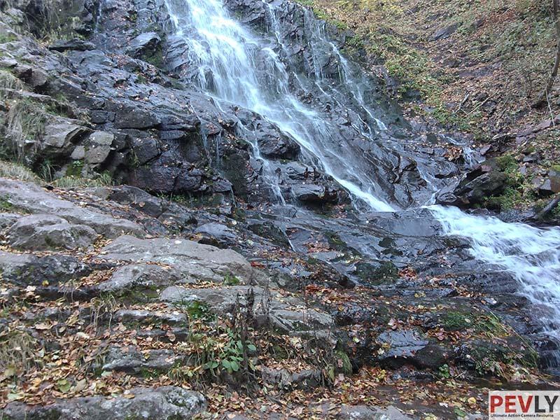 Piljski waterfalls in Serbia.