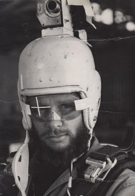 Bob Sinclair solution was to mount a camera to a fiberglass helmet to improve footage stability.