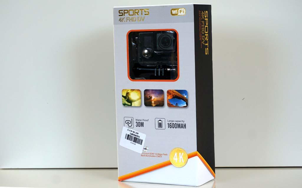 Firefly 6S 4K action camera box