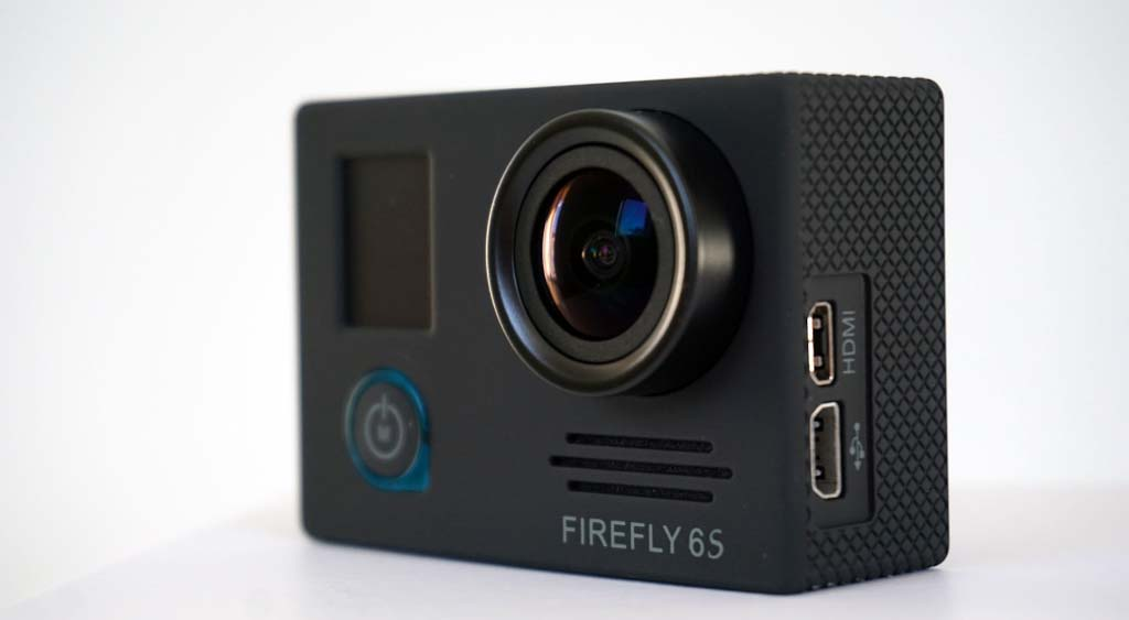 Firefly 6S 4K action camera front