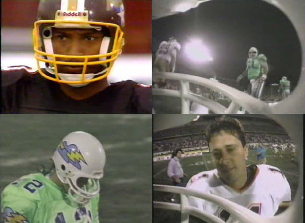 Helmet-Cam footblall 1991