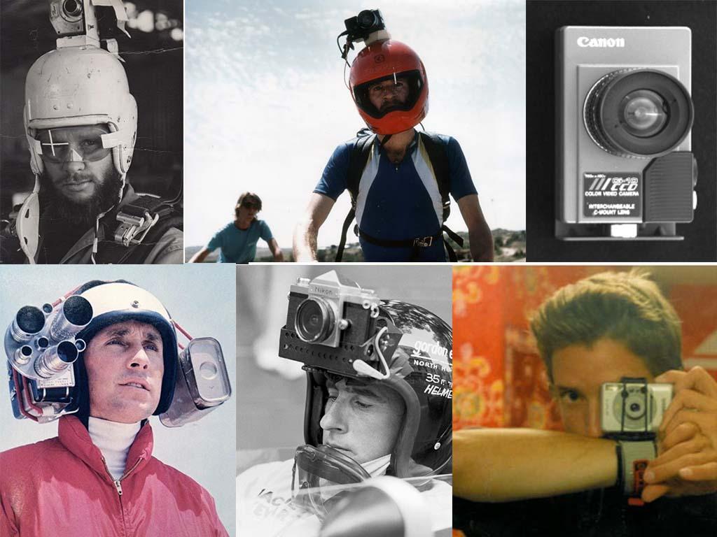 action helmet camera history