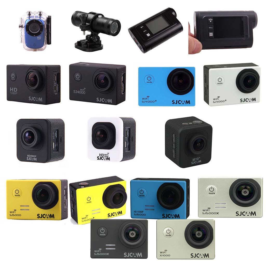 all sjcam cameras