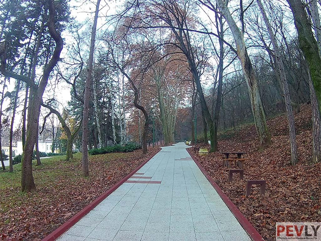 EKEN H9 photo sample bridge park 2