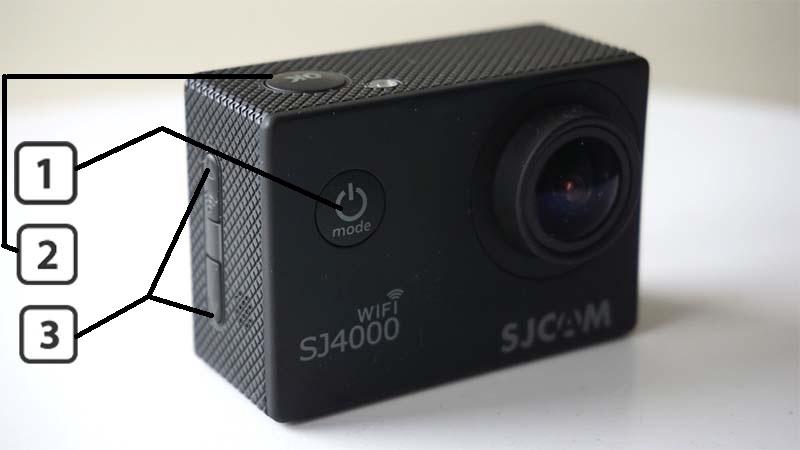 инструкция Sjcam 4000 Wifi - фото 6