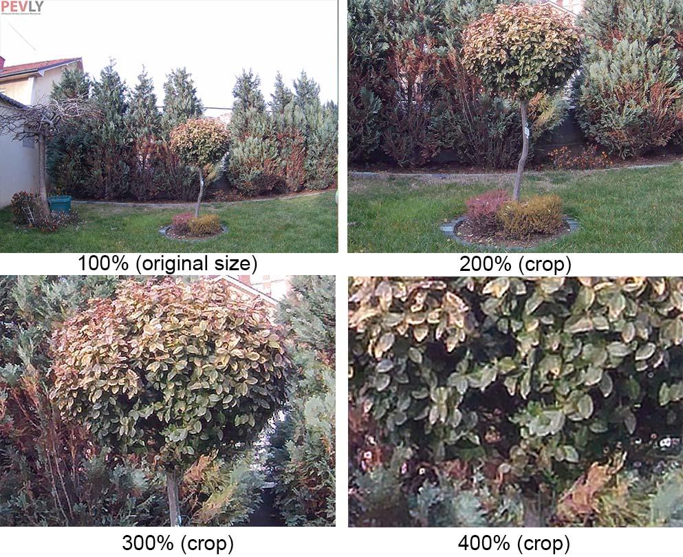 SJCAM M10+ Photo crop test (100-400% crop (1-4x zoom)