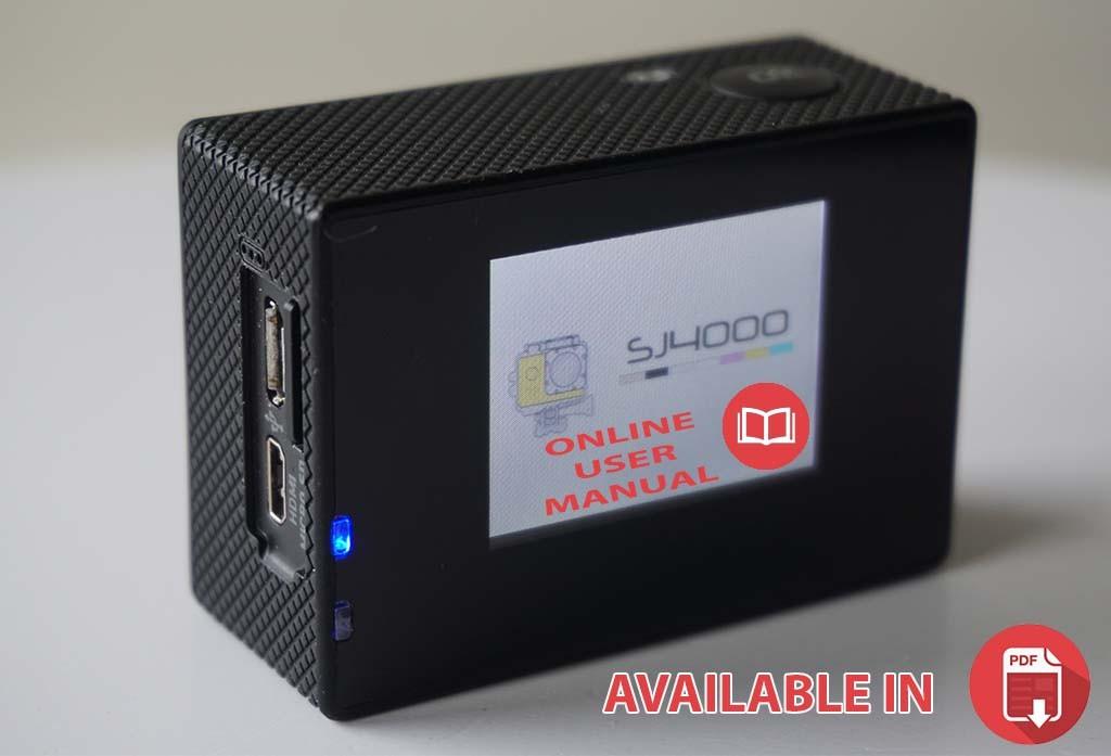 Online Manual for SJCAM SJ4000 (SJ5000,M10)
