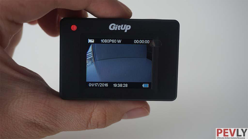 "GIT has 1.5"" LCD screen."