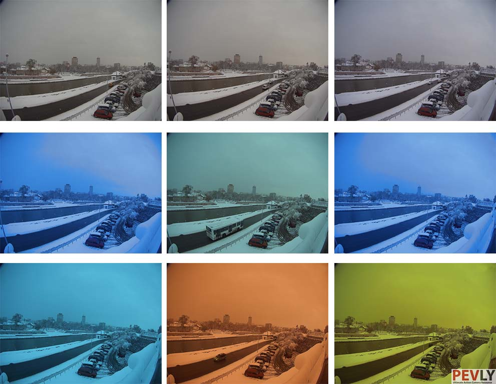 Camera offers plenty of white balance choices. Some are a bit redundant, but you also have custom white balance to set WB manually. Photo depicts WB sorted in a way they appear in a menu.