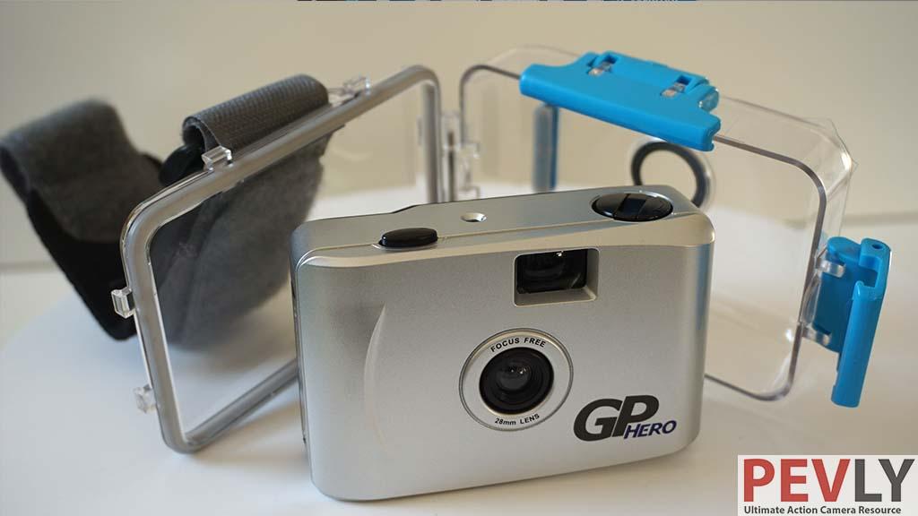 Hero Camera without waterproof housing.