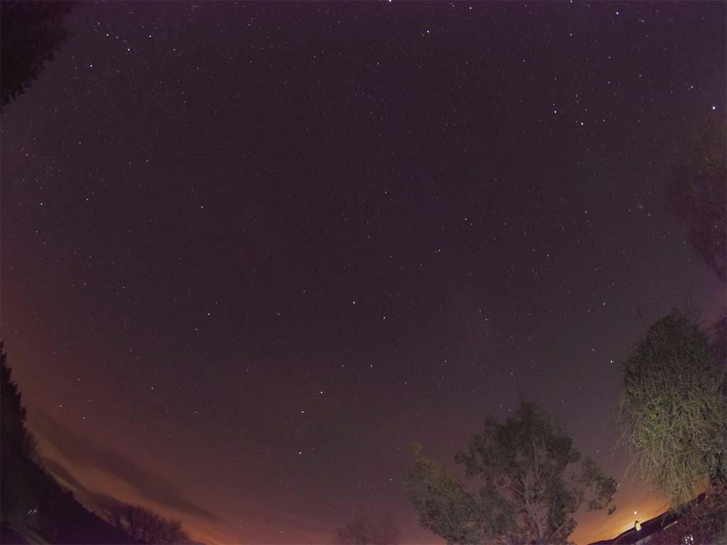 The Plough before moonrise. Credits Nigel Savidge