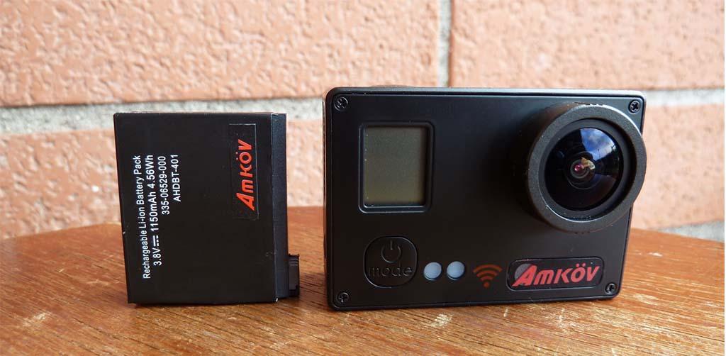 Amkov AMK7000S battery