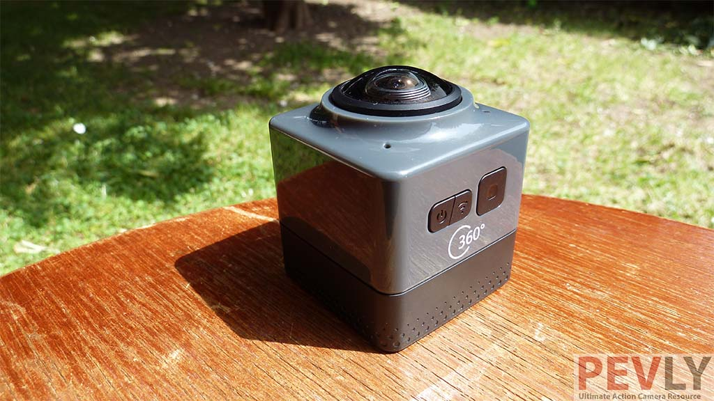 Cube 360 camera made by unknown brand.