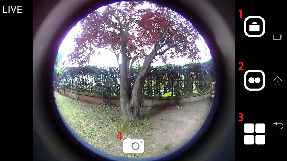 Cube 360 WiFi 360 camera App 1