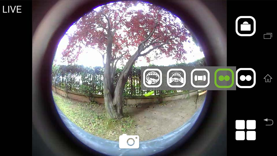 Cube 360 WiFi 360 camera App 3