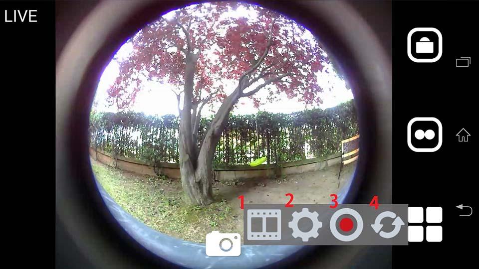 Cube 360 WiFi 360 camera App 8
