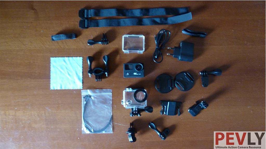 Eken H8R Action Camera accessories