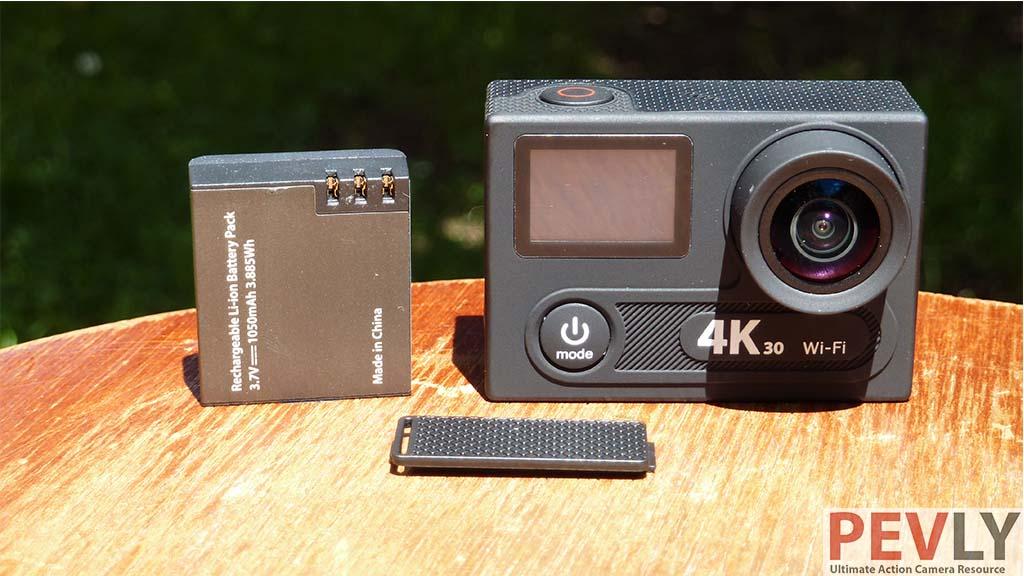 Eken H8R Action Camera battery 8