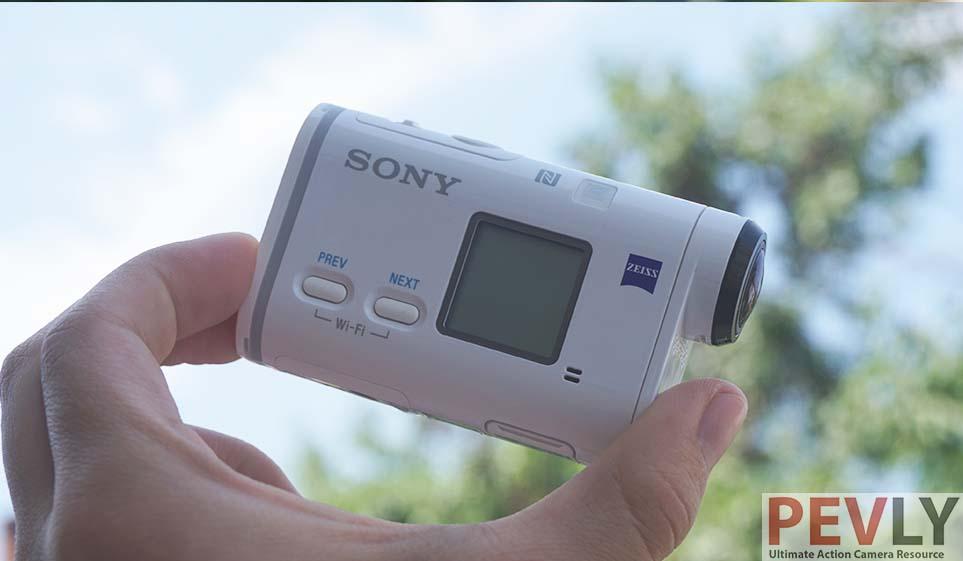 Sony 4K FDR-X1000V Action Camera