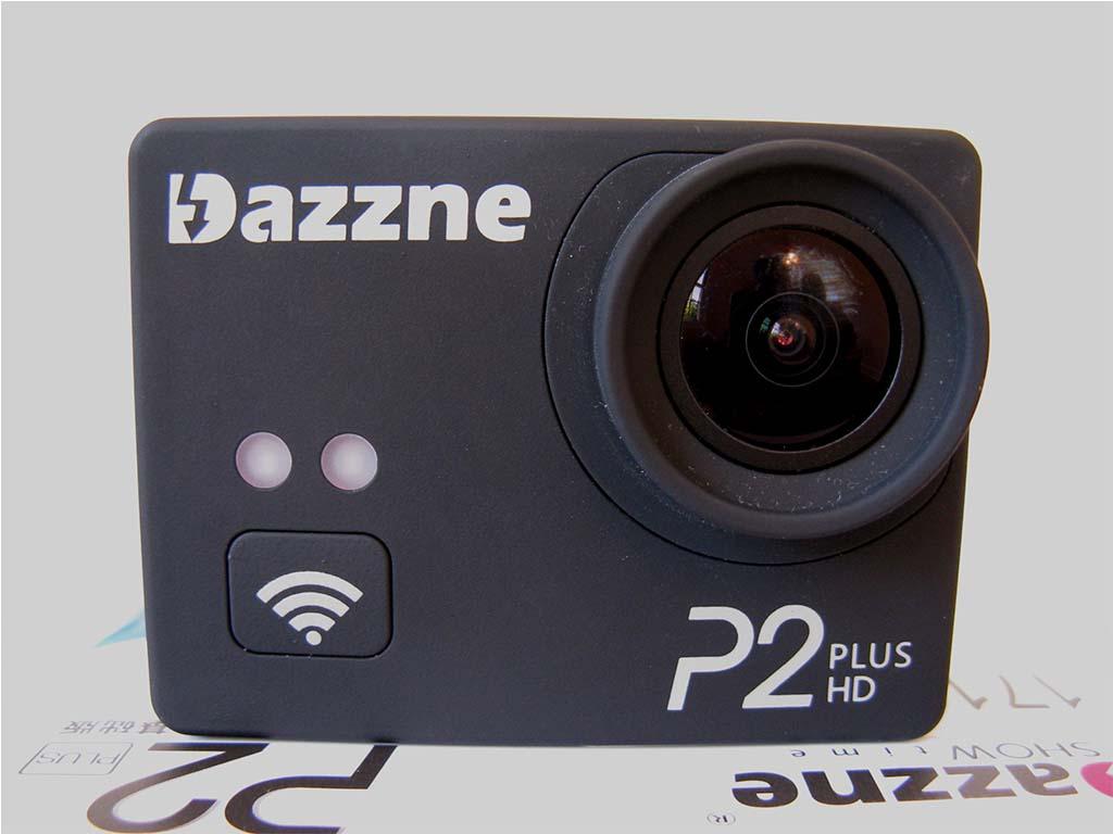 Dazzne P2+ Plus action camera intro photo