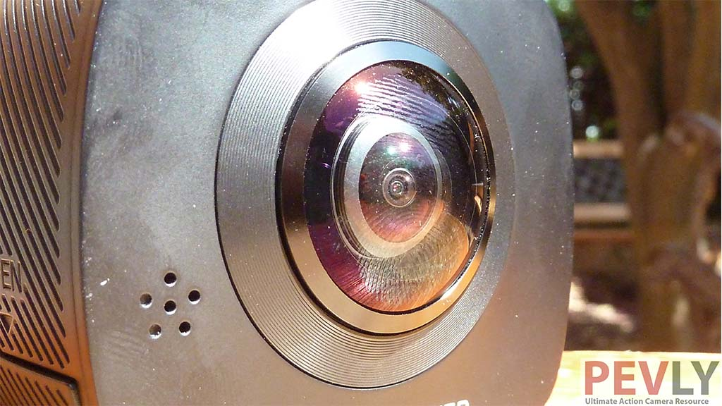 ELECAM 360 Video Camera 360 Degrees Panorama Camera 7