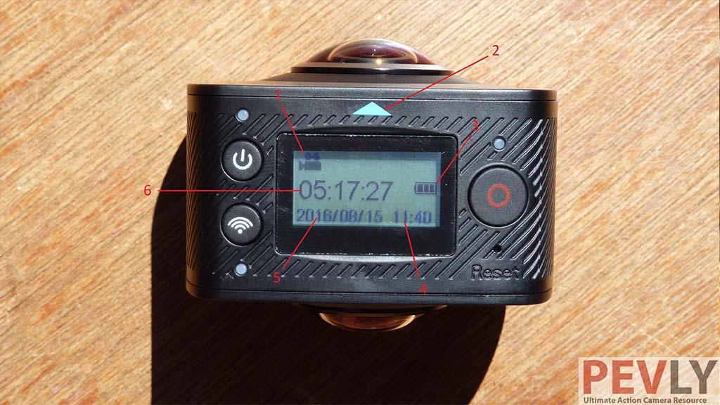 ELECAM 360 Video Camera 360 Degrees Panorama Camera 9