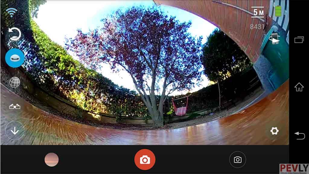 ELECAM 360 Video Camera 360 Degrees Panorama Camera APP 16