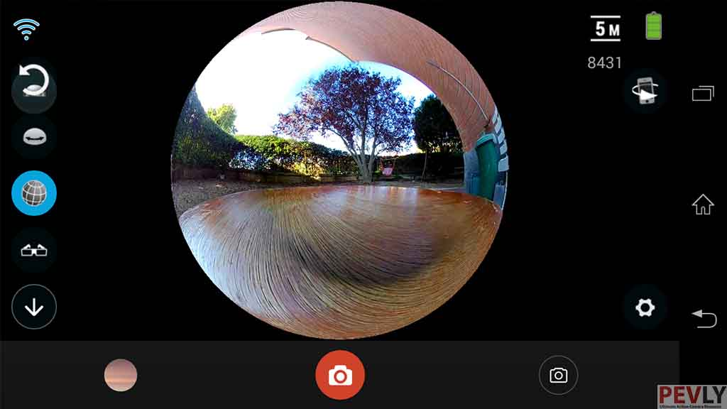 ELECAM 360 Video Camera 360 Degrees Panorama Camera APP 17