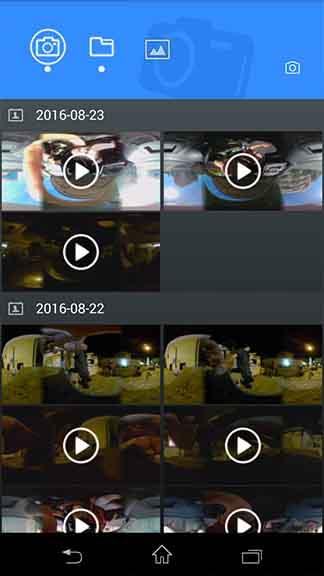 ELECAM 360 Video Camera 360 Degrees Panorama Camera APP 19