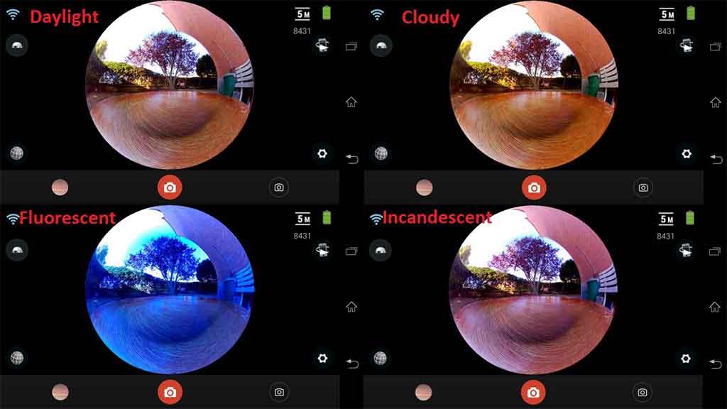 ELECAM 360 Video Camera 360 Degrees Panorama Camera APP 20
