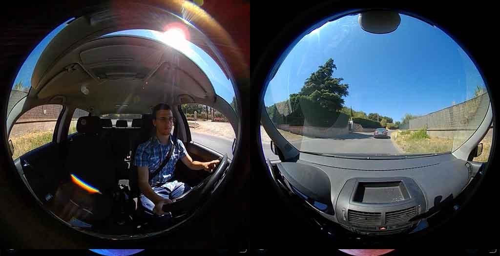 ELECAM 360 Video Camera 360 Degrees Panorama Camera APP 22