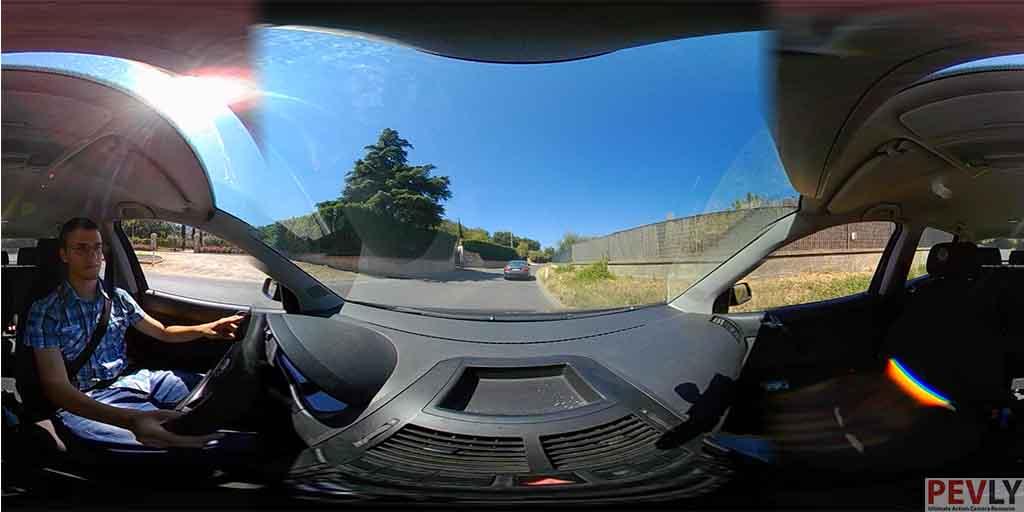 ELECAM 360 Video Camera 360 Degrees Panorama Camera APP 23