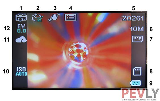 Elephone Explorer Pro Action Camera OSD CAMERA