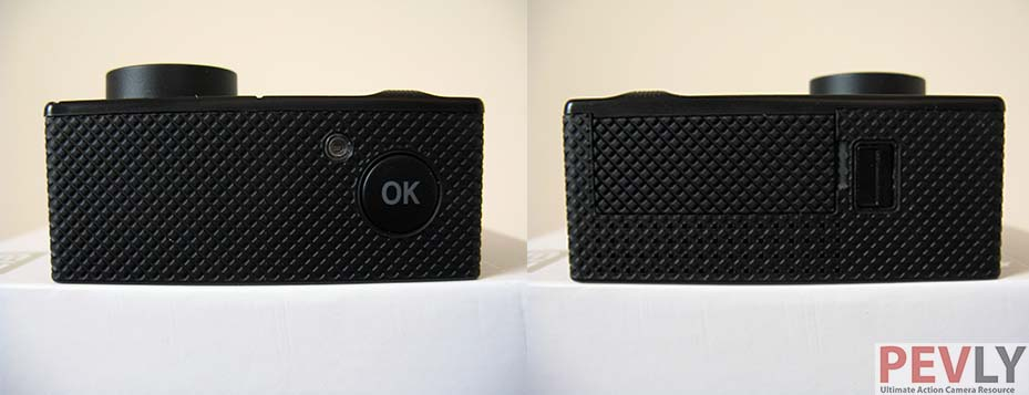 Elephone Explorer Pro Action Camera Top and Bottom