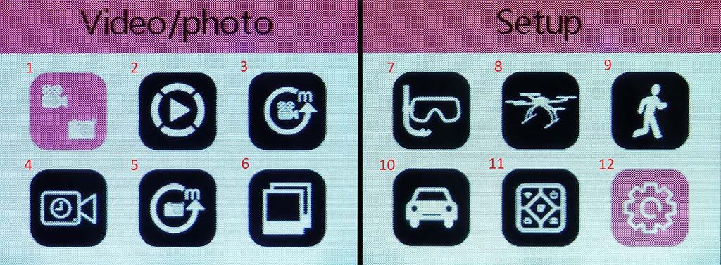 sjcam-m20-cameras-menu