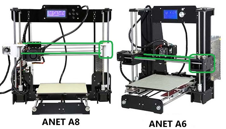 Anet A8 vs A6 – 3D Printer comparison – Which one is better