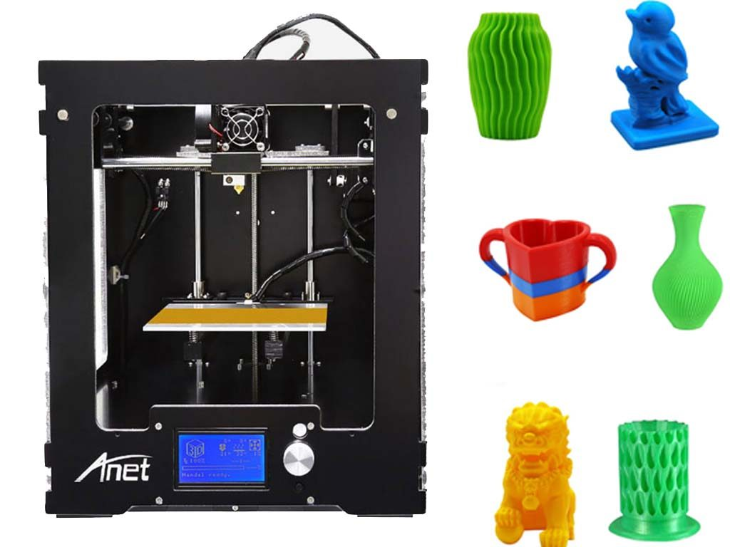 Anet A3 Review – Fully Assembled 3D printer