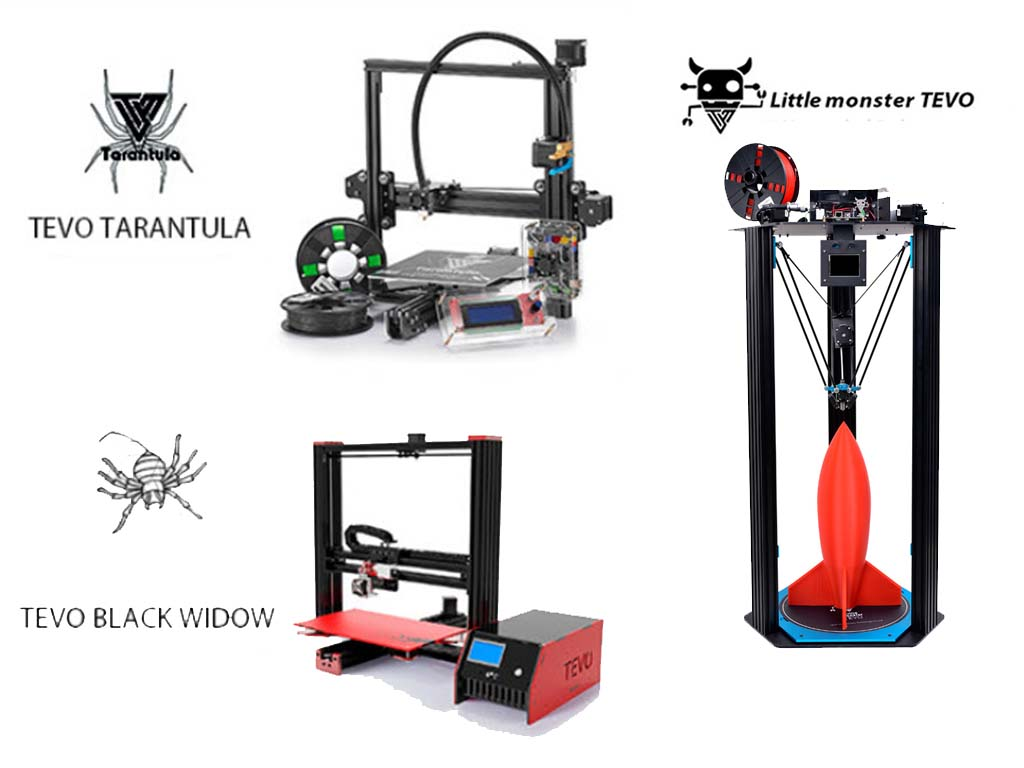 Tevo 3D printers
