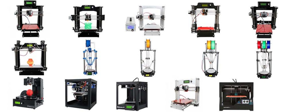 Geeetech 3D Printers Compared