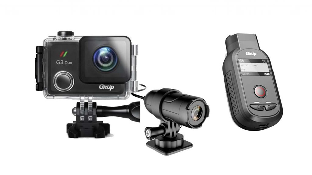 GitUp announced two new cameras –  Gitup F1 and G3 Duo